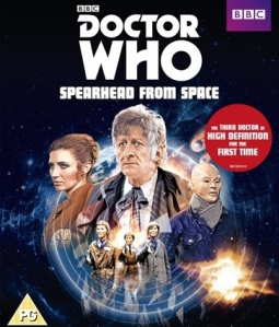 Spearhead from Space Blu-ray Cover